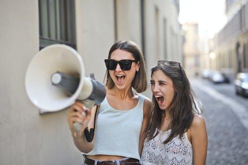Foto stok gratis , berbayang, bersama, berteriak