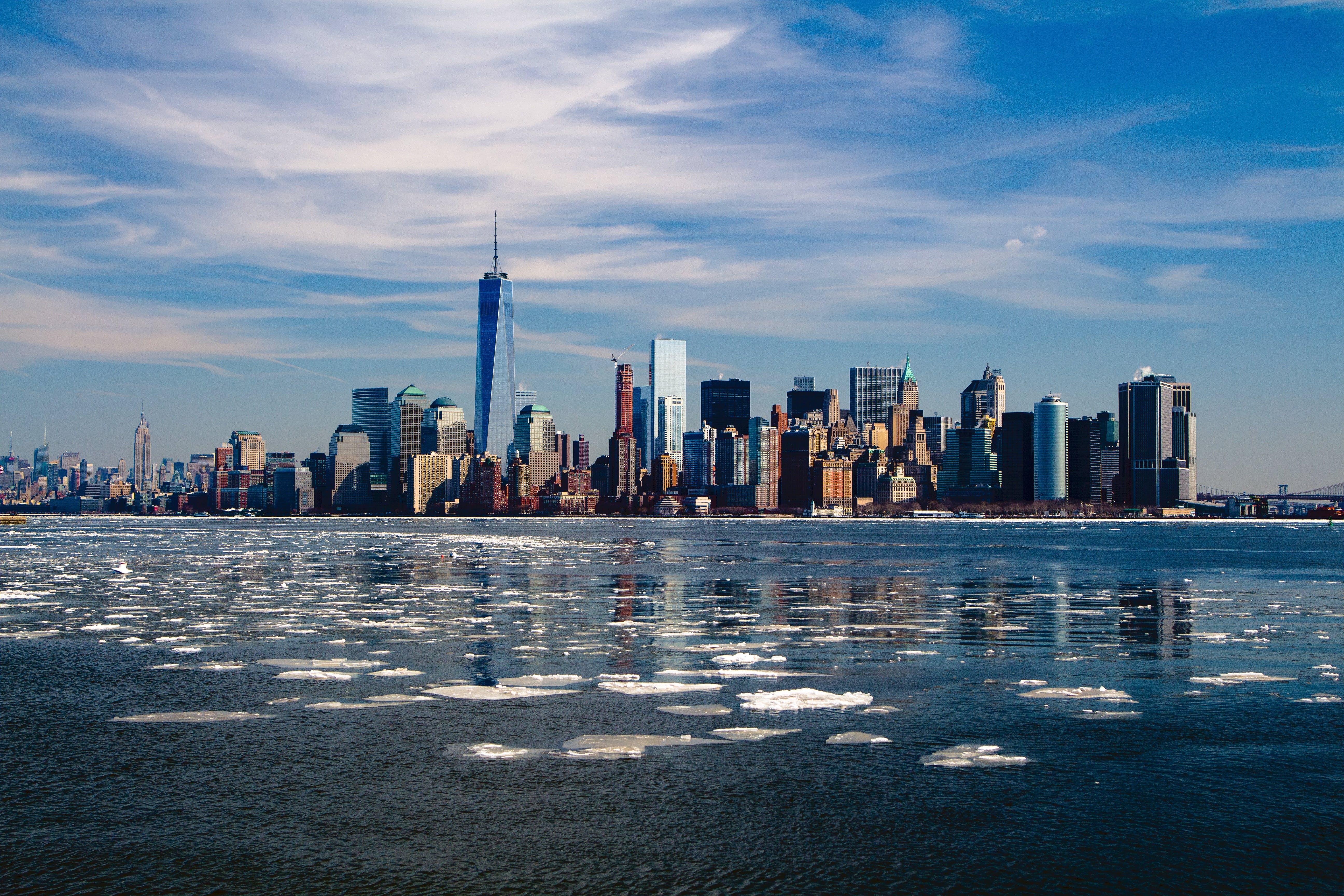 Kostenloses Stock Foto zu amerika, eis, gebäude, himmel