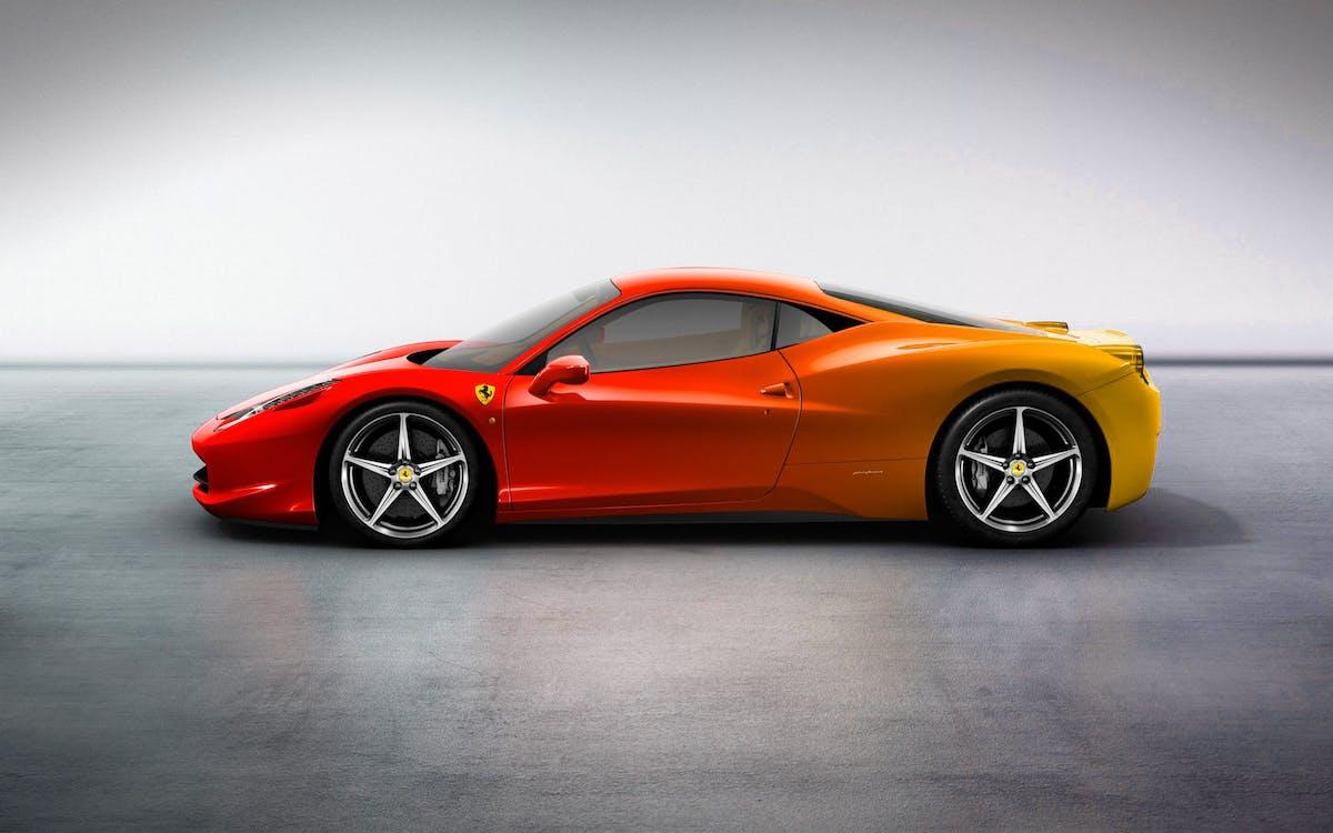 Adobe Photoshop, Ferrari, автомобіль