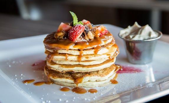 Free stock photo of food, plate, blur, breakfast