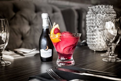 Free stock photo of blood orange, champagne, cocktail, dinner
