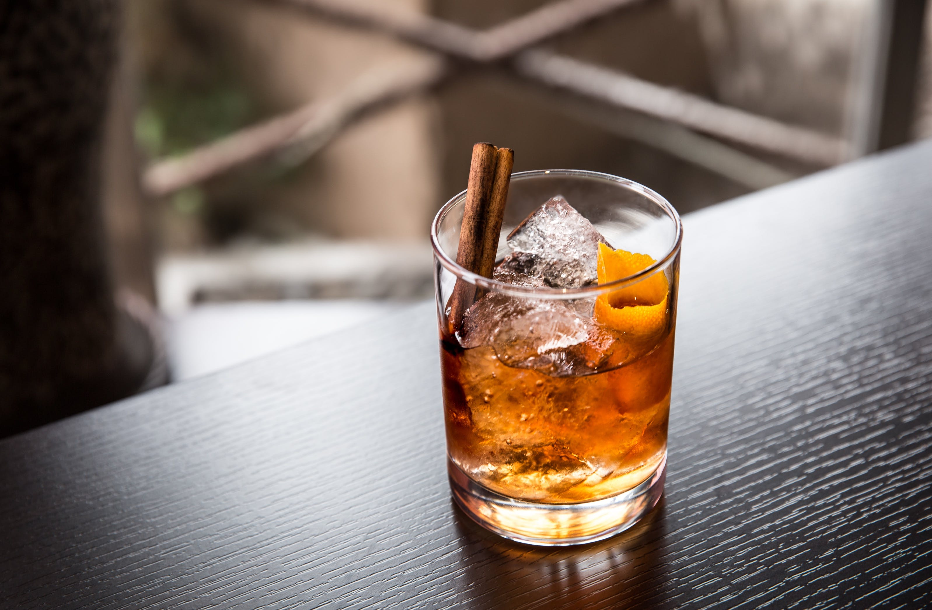Free stock photo of cocktail, drink, glass, old fashioned