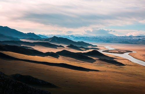 Photos gratuites de désert, fleuve, montagnes, nature