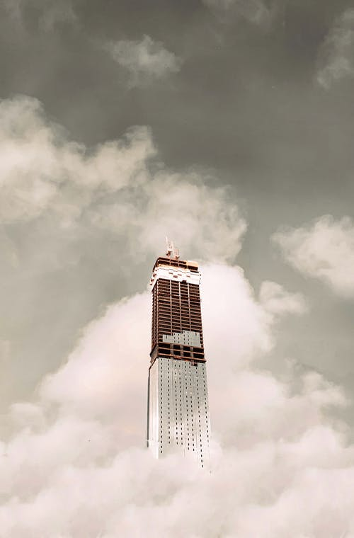 光, 商業, 城市, 塔 的 免費圖庫相片