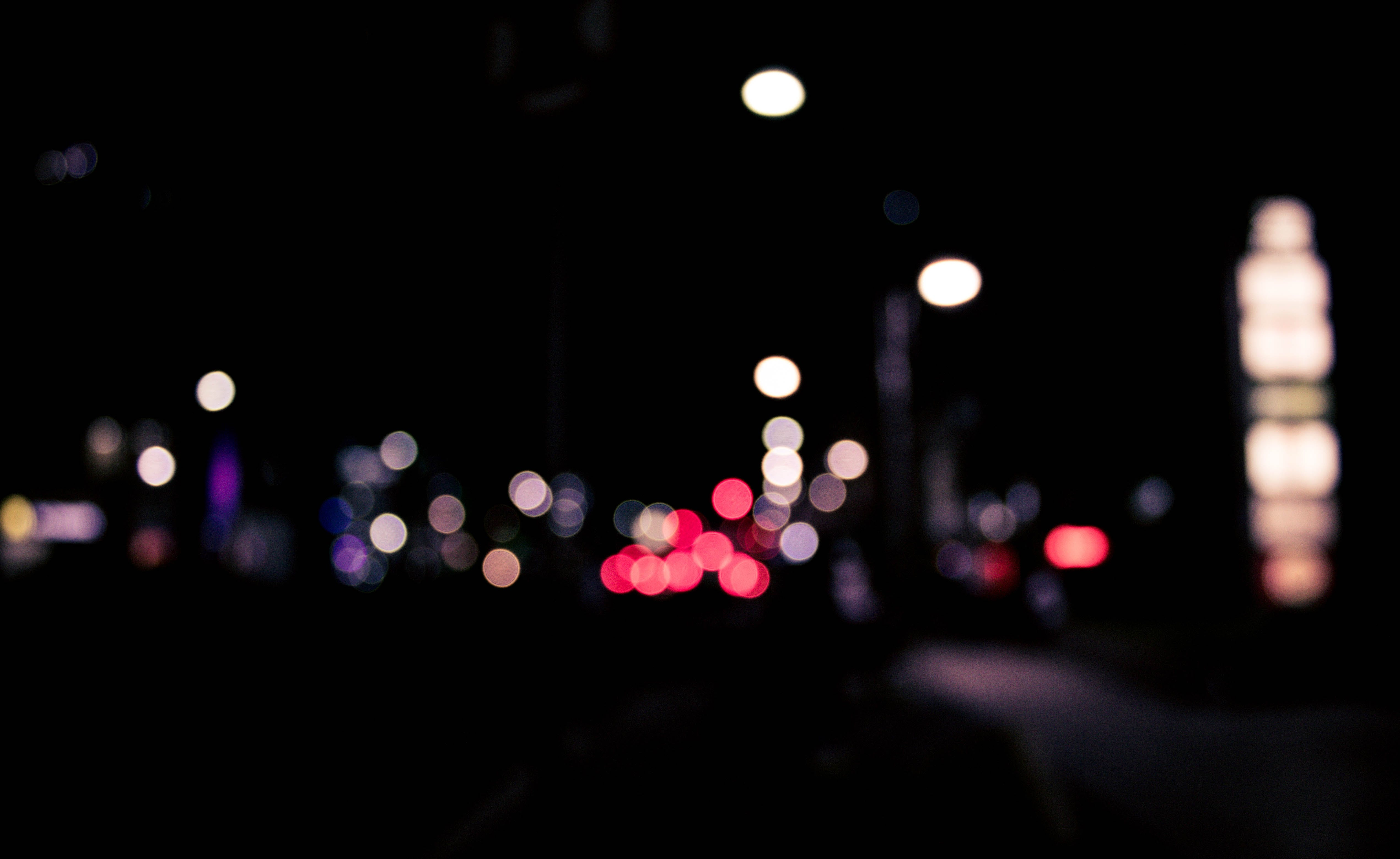 Bokeh Photography of Street