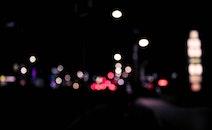 beleuchtung, nacht, straße
