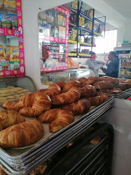 Free stock photo of bakery, bread, croissants, shop