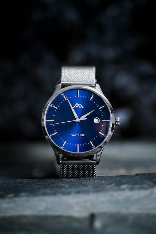 Photo Of Analog Sapphire Wrist Watch