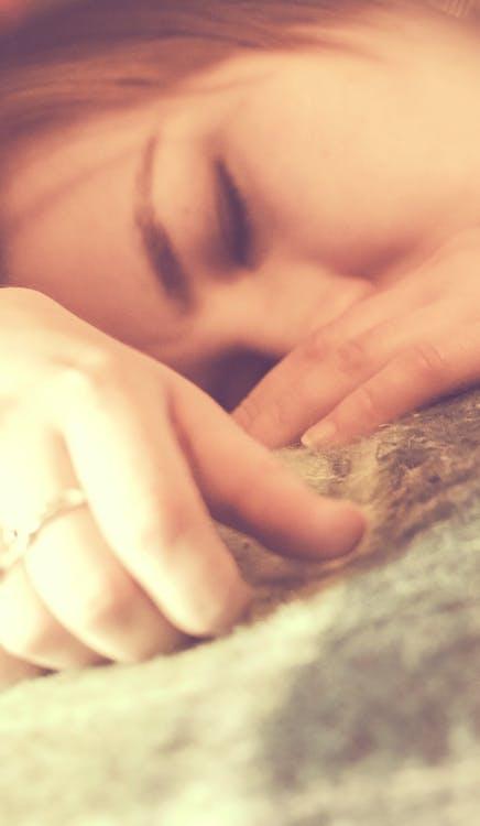 sedang tidur, tidur