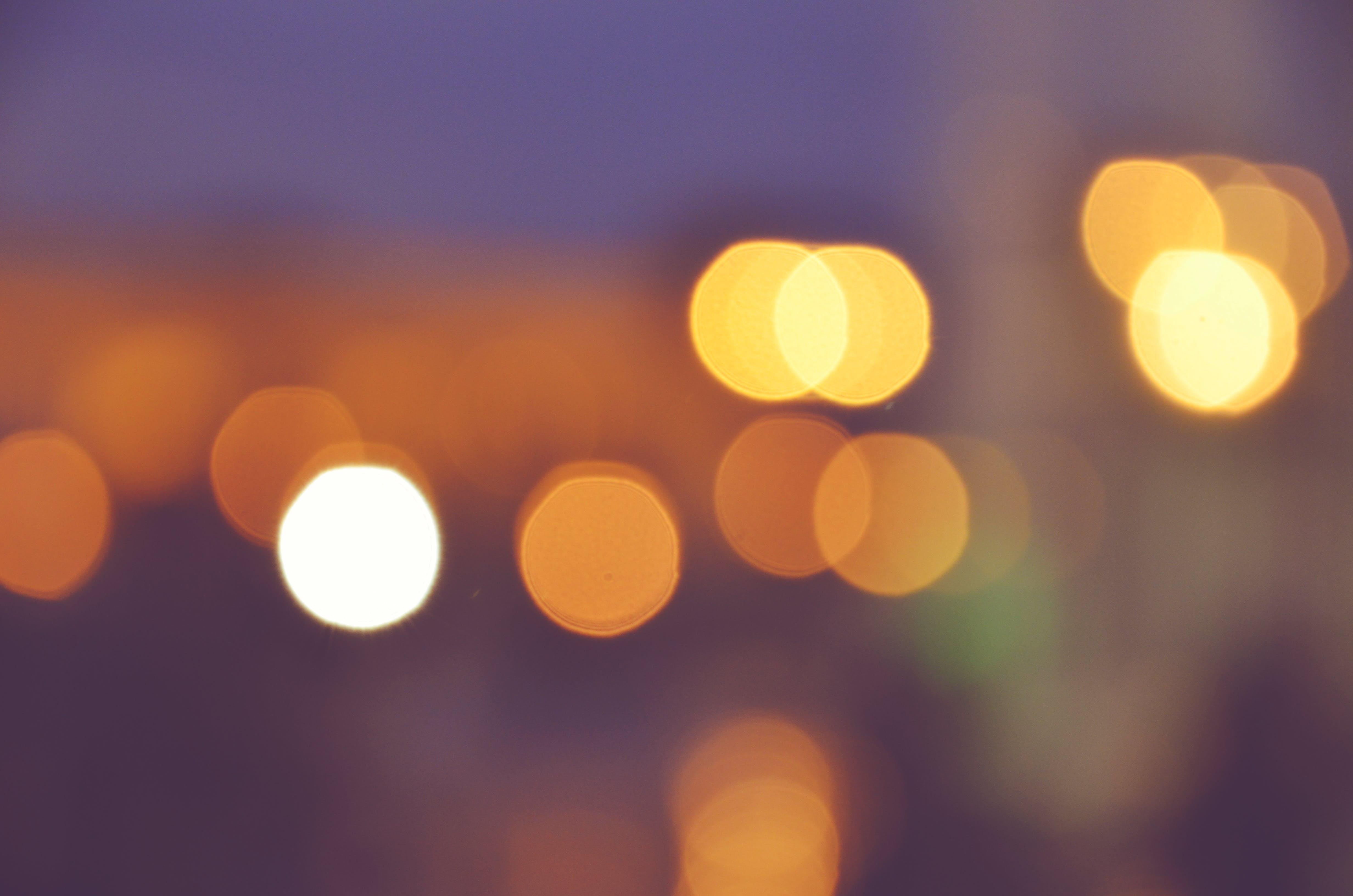 Free stock photo of bokeh, city, night
