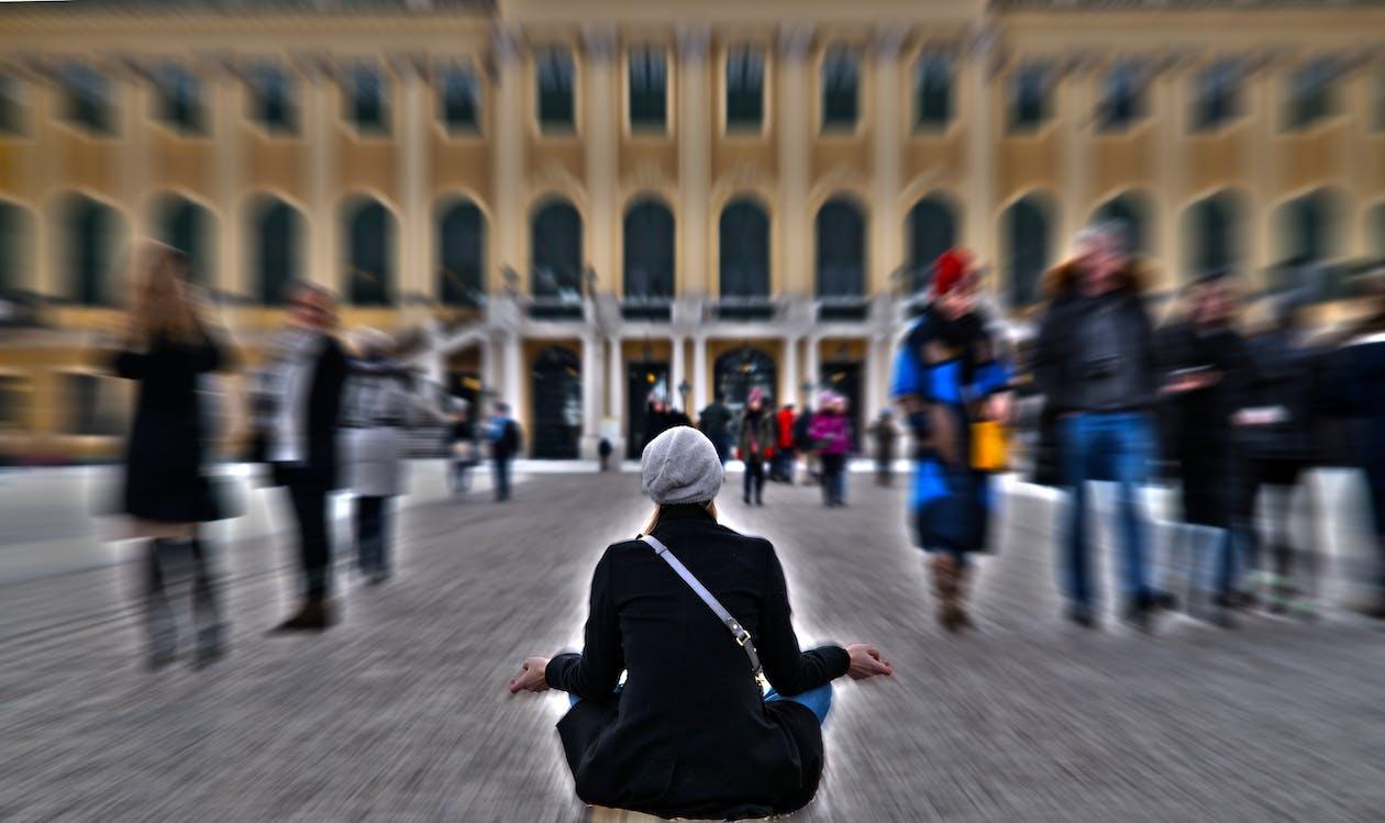 Free stock photo of meditation
