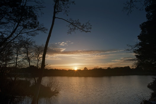 Free stock photo of landscape, nature, sunset, vacation