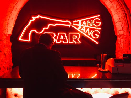 Free stock photo of bar, cool, cool bar, gun