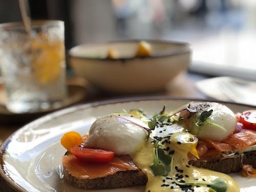 Free stock photo of breakfast, brunch, eggs, food