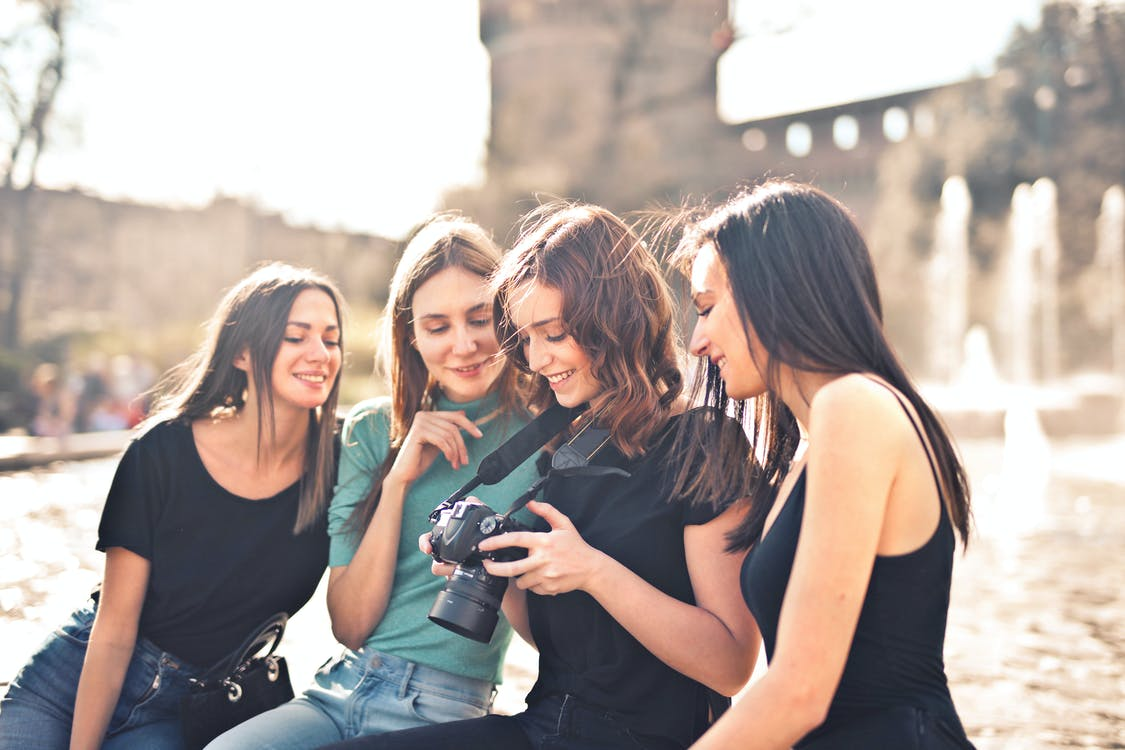 Photo of Women Looking at the Camera