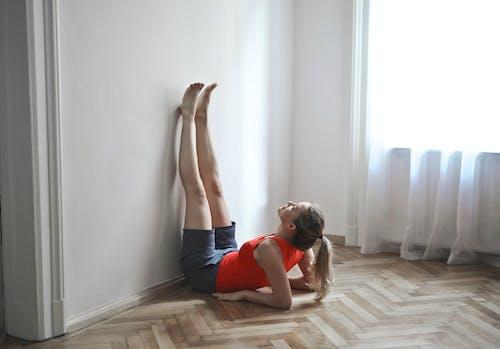 休閒, 伸展, 健身, 地板 的 免费素材照片