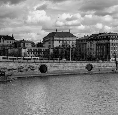 Free stock photo of cold water, prague, Vltava