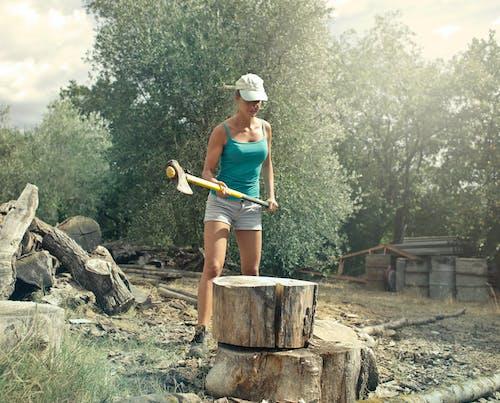 Copyspace, 人, 伐木工人, 保養 的 免費圖庫相片