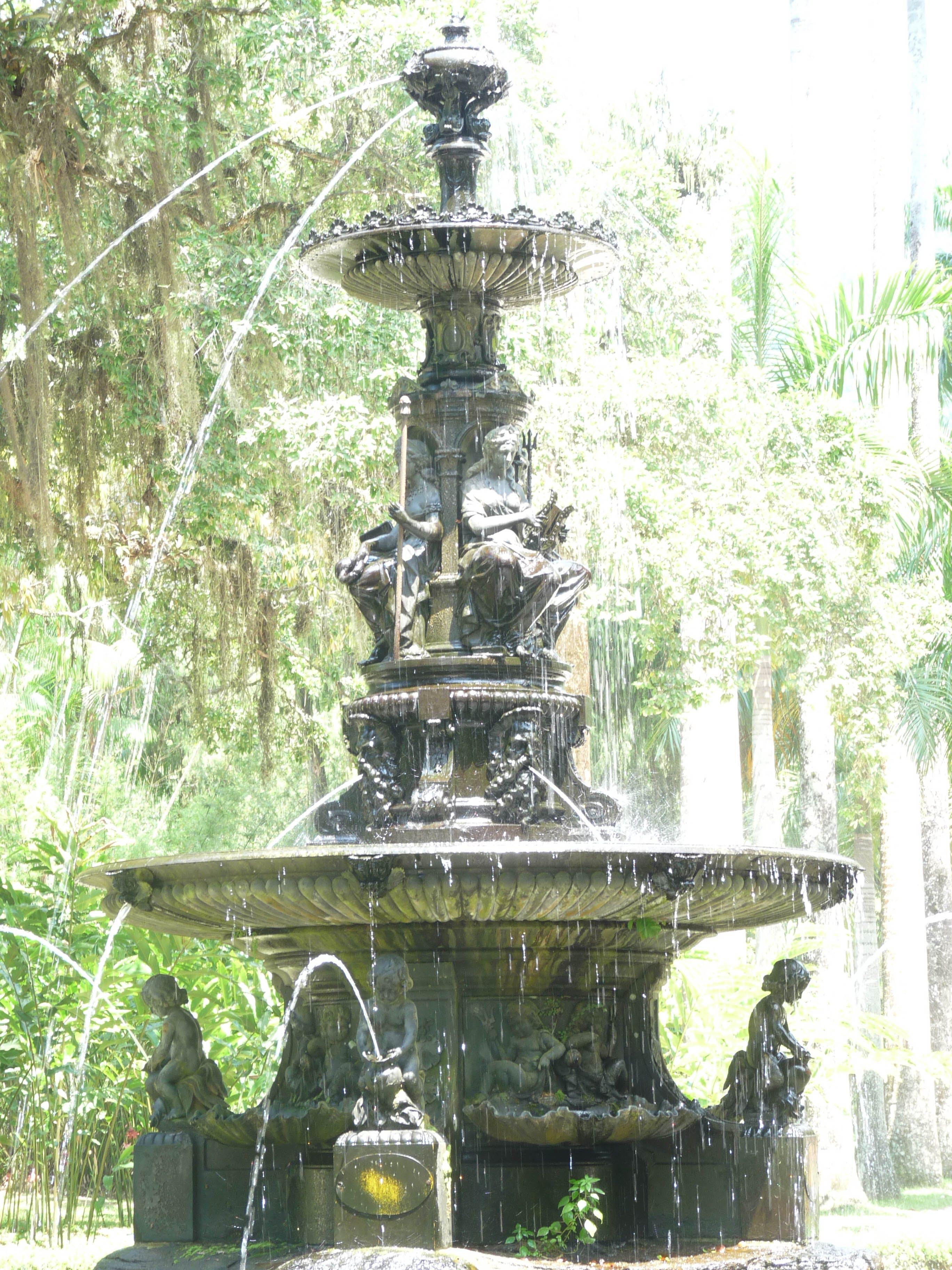 Free stock photo of fountain