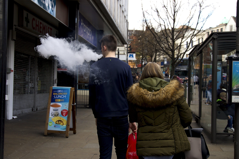 Free stock photo of smoke, street, streetphotography