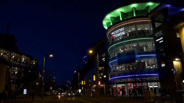 Free stock photo of night, street, amusement