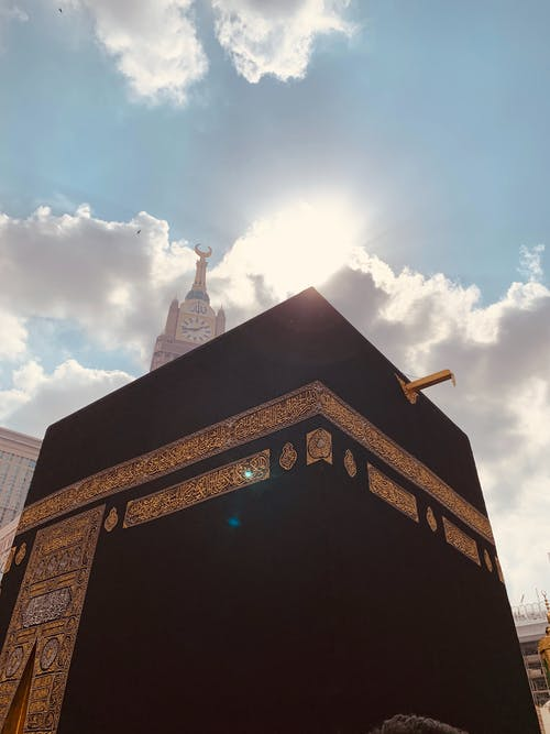 คลังภาพถ่ายฟรี ของ haram, กะอ์บะฮ์, ท้องฟ้าสวยงาม, บ้านของอัลเลาะห์