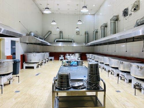 คลังภาพถ่ายฟรี ของ matbakh, ครัว, ห้องครัวขนาดใหญ่, เมกกะ