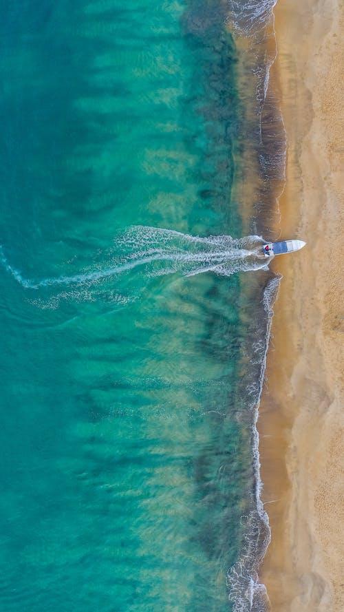 Incredibile Paesaggio Della Costa Dell'oceano