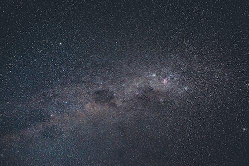 Majestic starry sky at dark night