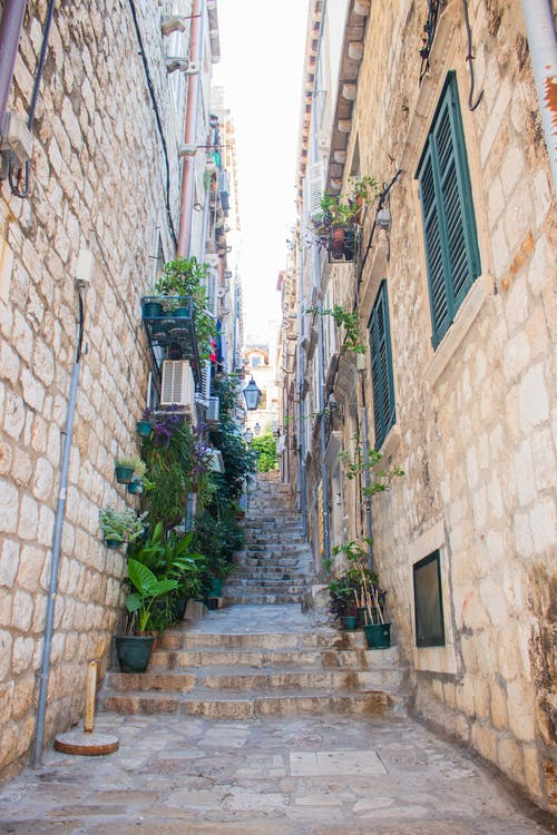 Free stock photo of alley, croatia, dubrovnik