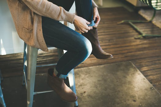 Free stock photo of fashion, woman, shoes, get ready
