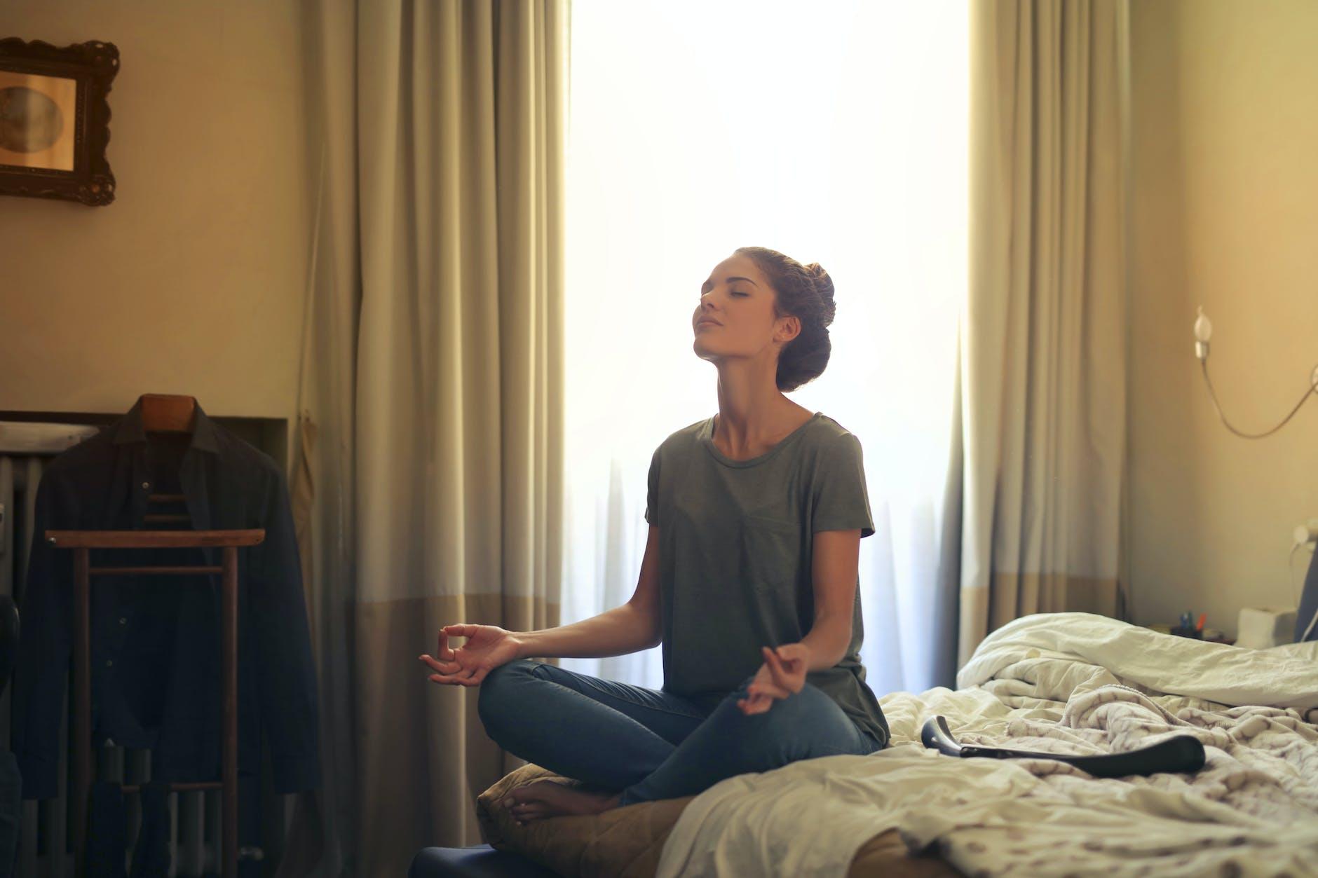 meditasi mengatasi cemas