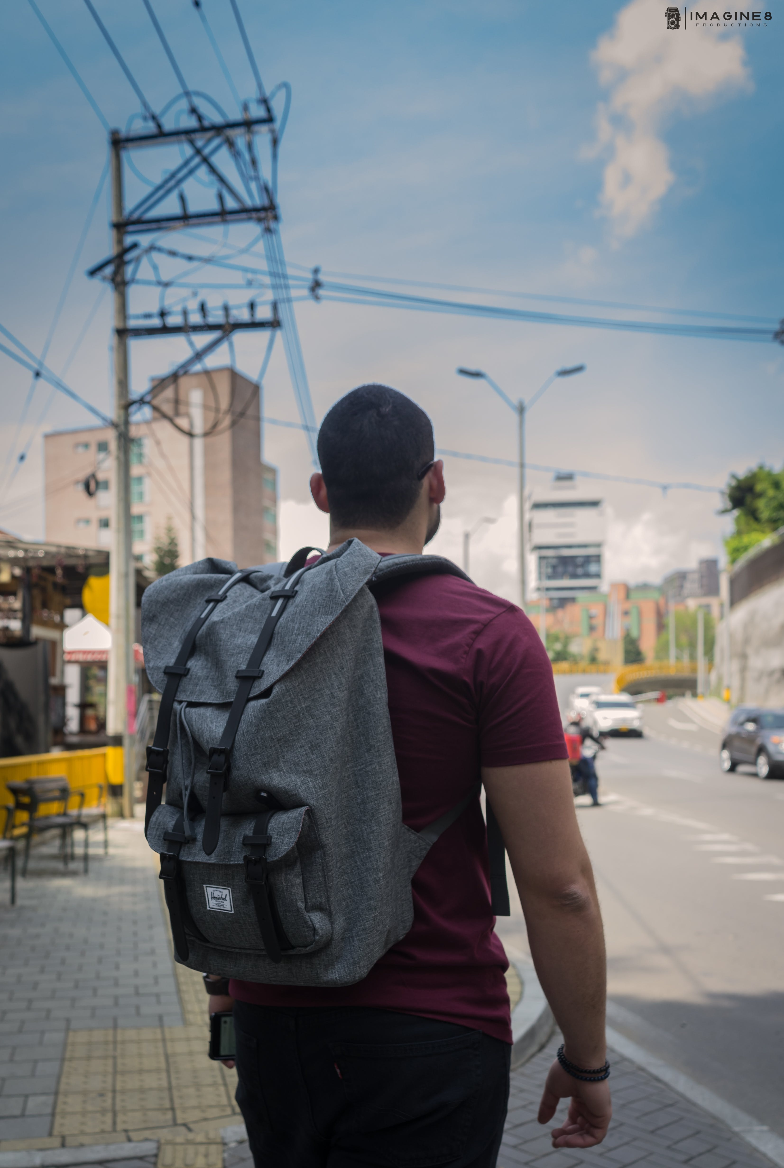 Free stock photo of #travel #herschel #backpack #exploration #colombia