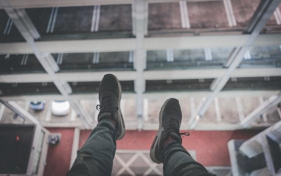 Free stock photo of #urban #hanging #exploration #nike #city