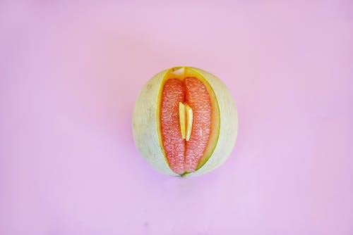 グレープフルーツのクローズアップ