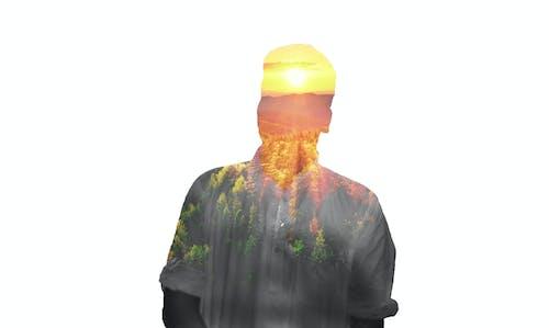 Free stock photo of adobe photoshop, double exposure, sunrise