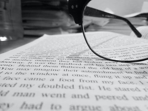 Free stock photo of reading, spectacles