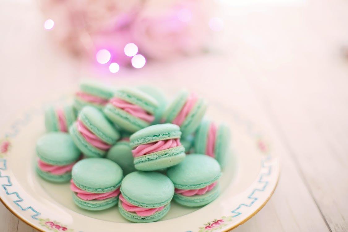 Photo of Macarons on Plate