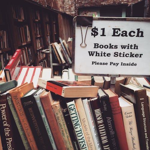 Free stock photo of books, bookstore, boston, mobile