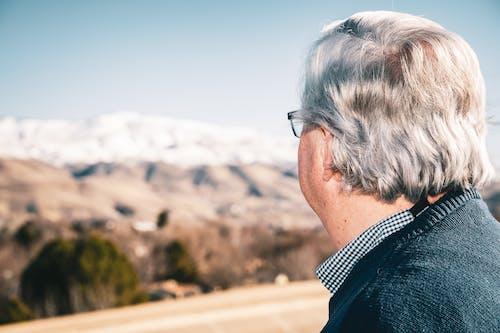Fotobanka sbezplatnými fotkami na tému hory, muž, vrchy