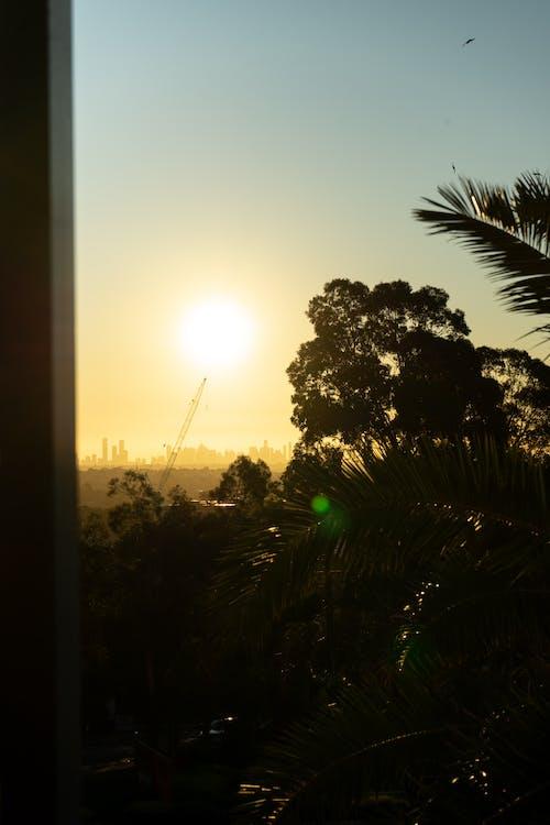 Free stock photo of beatiful landscape, Beautiful sunset, city