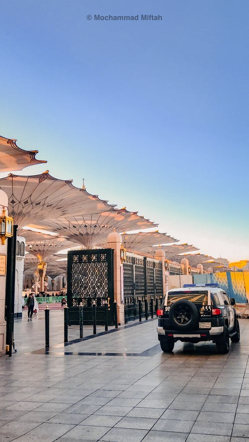 Free stock photo of a mosque, cars, grand mosque, islam