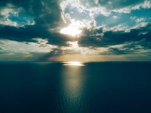 Kostnadsfri bild av fredlig, hav, havsområde, himmel