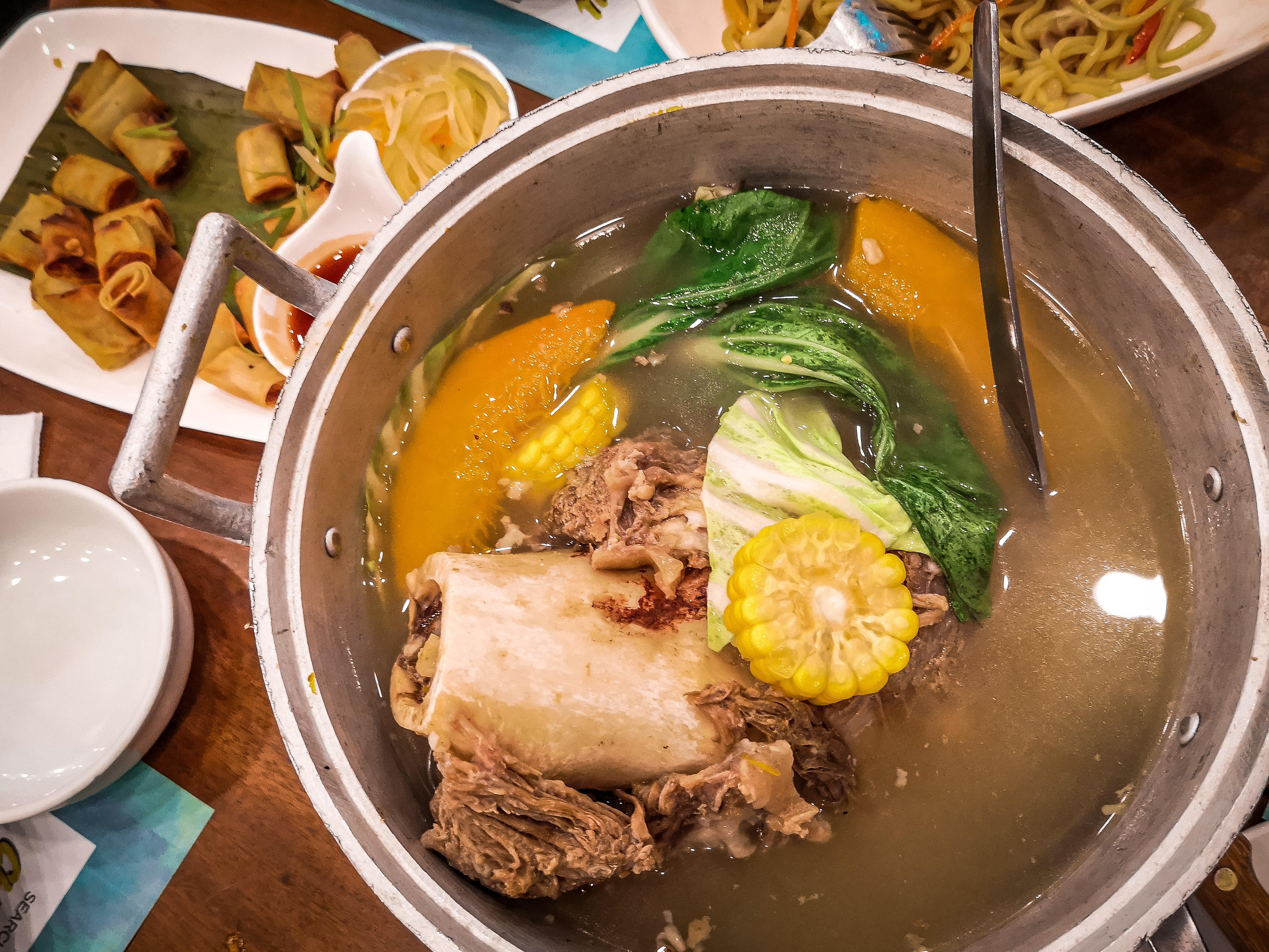 Free stock photo of bulalo, filipino food, food
