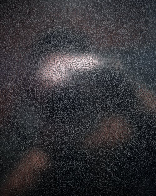 Black and Brown Leather Surface