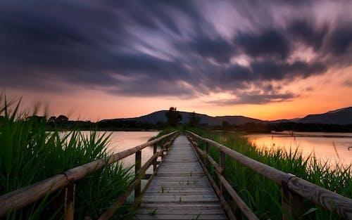 Foto profissional grátis de alvorecer, amanhecer, aurora, borrão de movimento