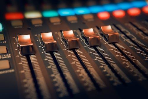 Immagine gratuita di amplificatore, analogico, attrezzatura, audio