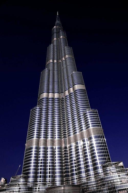 Gratis arkivbilde med arkitektur, burj khalifa, bygning, de forente arabiske emirater