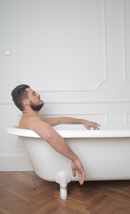 Man In The Bathtub