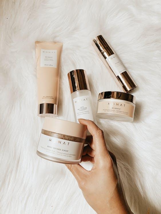 Flat Lay of Beauty Treatment